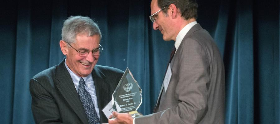 Robert E. Lucas, Jr. Receives Phoenix Prize