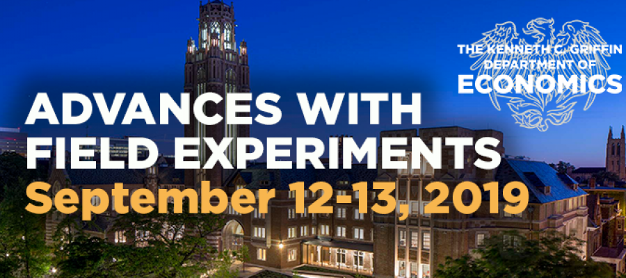 AFE2019 Conference at the University of Chicago September 12-13