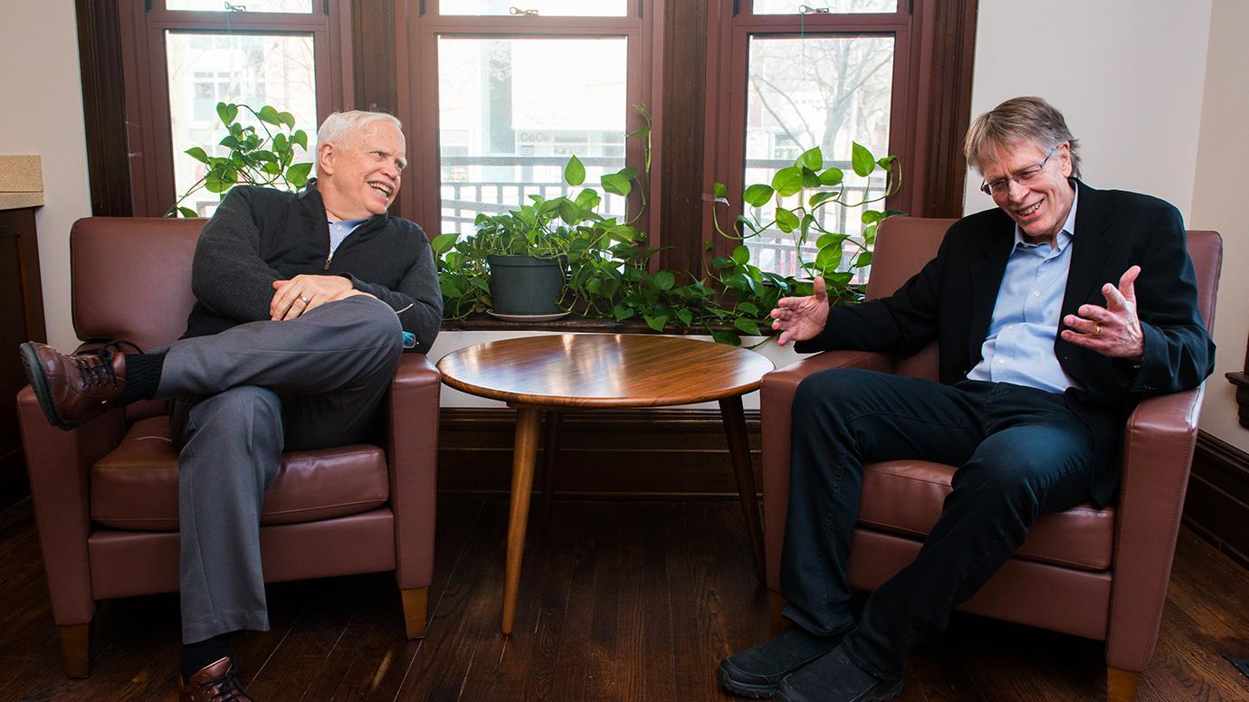 Nobel Laureates Heckman and Hansen
